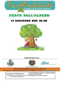 Festa dell'Albero 13 dicembre 2017